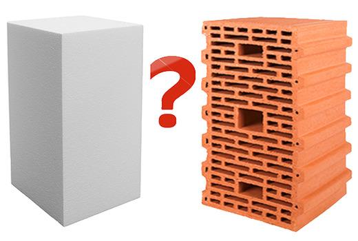 Сравнение керамических и газобетонных блоков