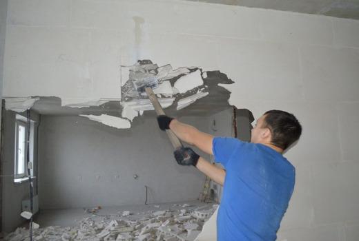 Особенности демонтажа стен