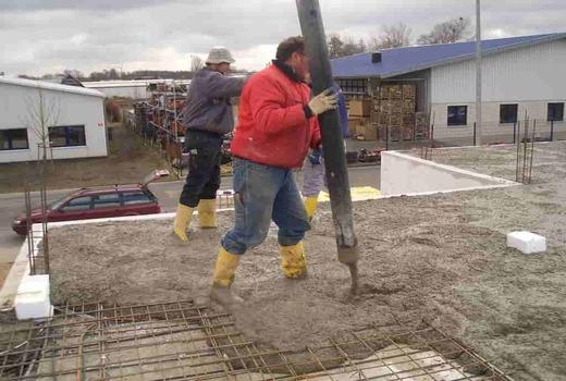 Области использования бетона М300