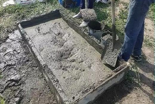 Расчеты количества бетонного материала