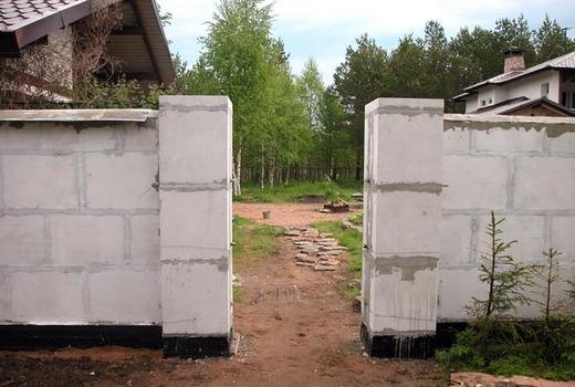 Использование декоративных блоков