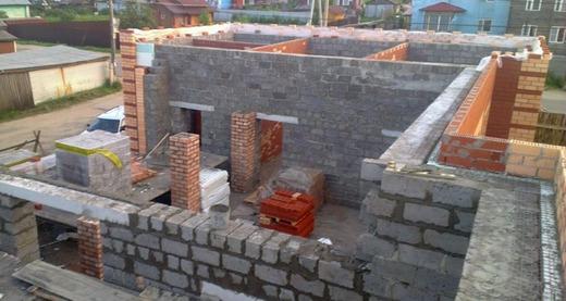 Стены из керамзитобетонных блоков в разных регионах
