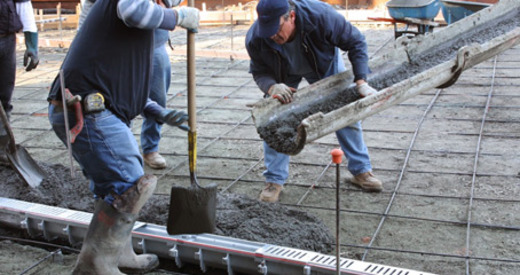 Применение бетона м200