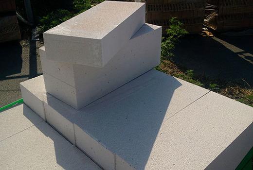 Блоки по вяжущему компоненту