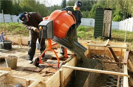 Пропорции бетона м200