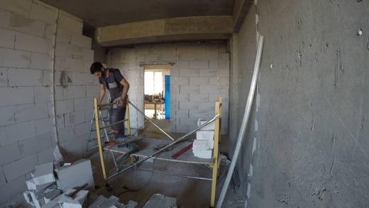 Подготовительные работы к демонтажу