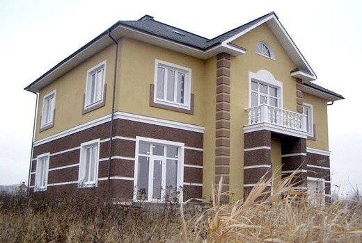 Дом из керамзитобетона
