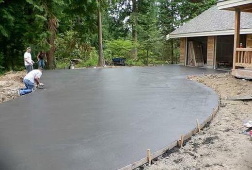 Правильная укладка бетона м900