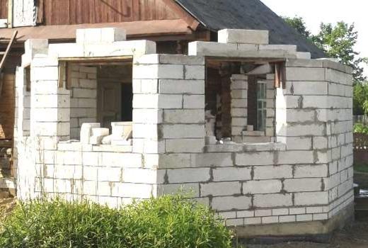Перемычки из монолитного бетона