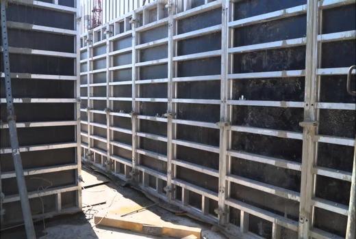 Алюминиевая опалубка для монолитного строительства