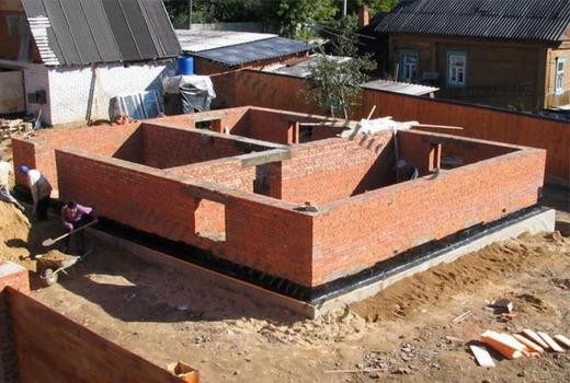 Конструкция фундаментной основы под колонну