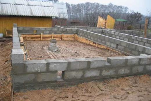 Условия остывания бетона