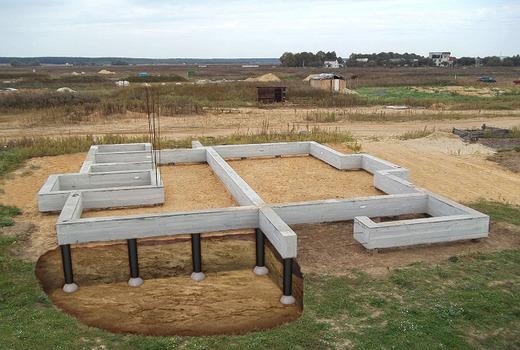 Тип почвы в местах строительства