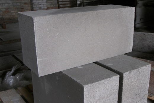 Блочный материал из газобетона
