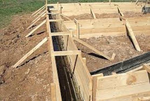 Устройство свайно-ленточного фундамента для жилого дома