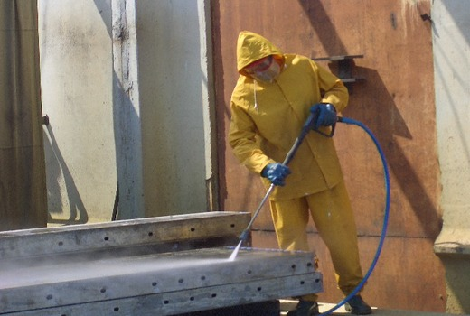 Использование смазки при зимнем бетонировании