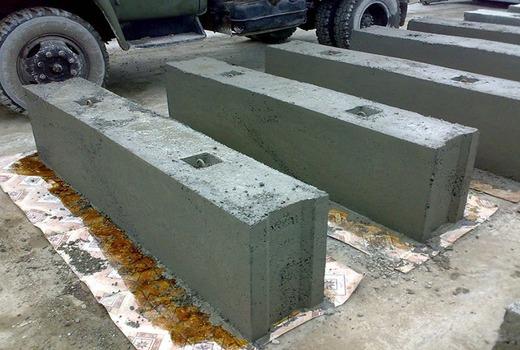 Формы для фундаментных блоков