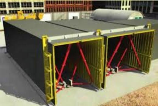 Стеновые элементы по проектным размерам