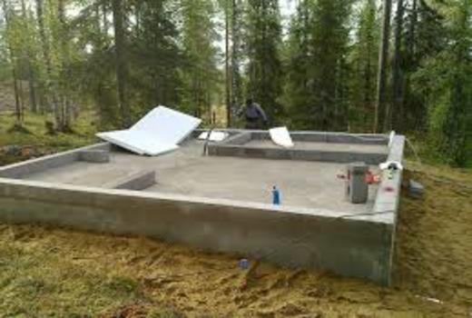 Выбор бетона для ленточного фундамента под баню