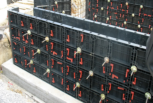 Пластиковая опалубка в строительстве