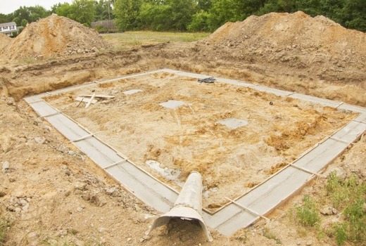 Уход за залитым бетоном