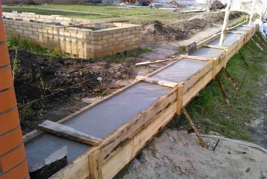 Использование щелевых фундаментов