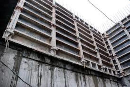 Литая бетонная основа