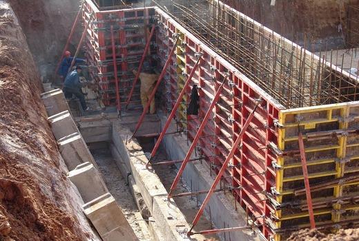 Точность строительства бетонных конструкций