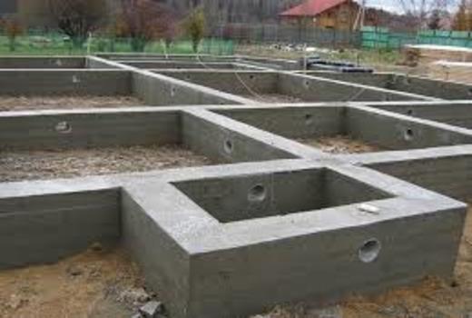 Комбинированная фундаментная основа