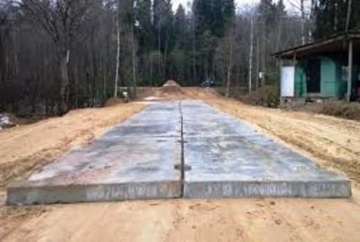Дорожные плиты под фундамент