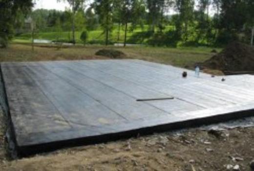 Качественный фундамент для дома из дорожных плит
