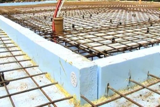 УШП фундамент (утепленная шведская плита)