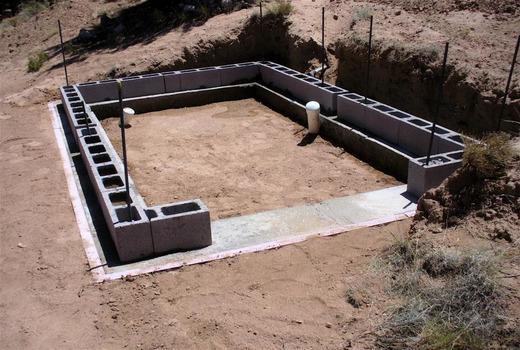 Фундаментная основа на пучинистом грунте