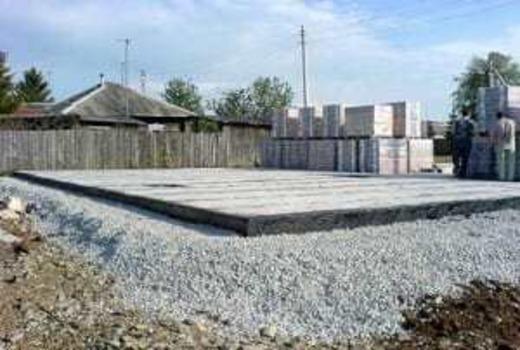 Слой тощего бетона