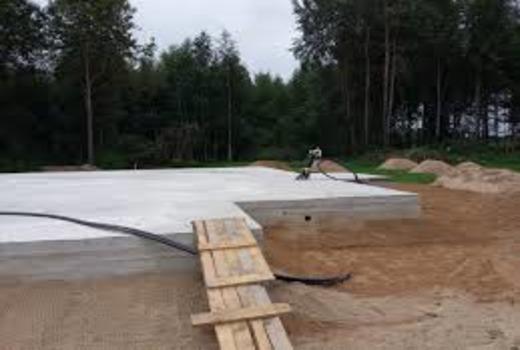 Размеры фундаментной плиты