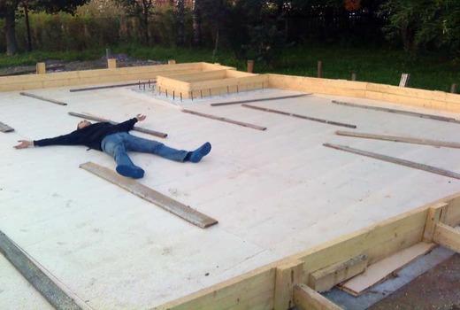 Надежная и прочная основа из монолитного бетона