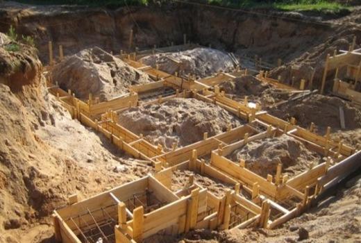 Монолитная бетонная конструкция
