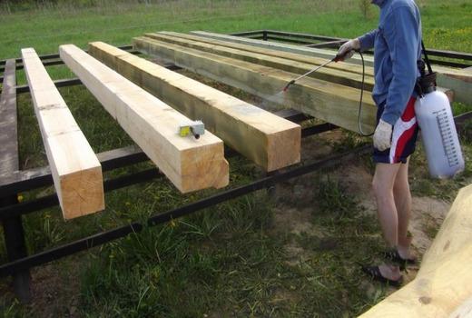 Область применения деревянного основания