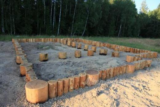 Виды фундаментов из дерева