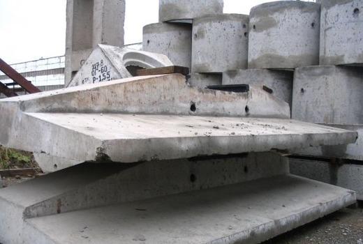 Хранение готовых фундаментов