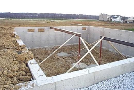 Фундамент для 2-этажного дома