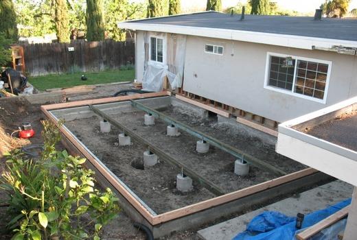 Советы по строительству фундамента
