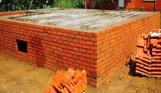 Строительство ленточного фундамента из кирпича