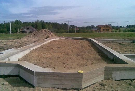 Строительство фундаментов частных домов
