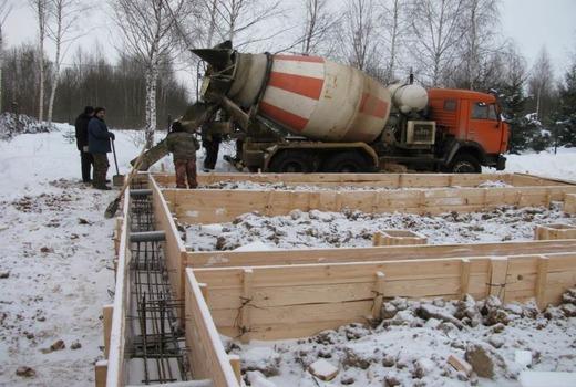 Метод зимнего бетонирования