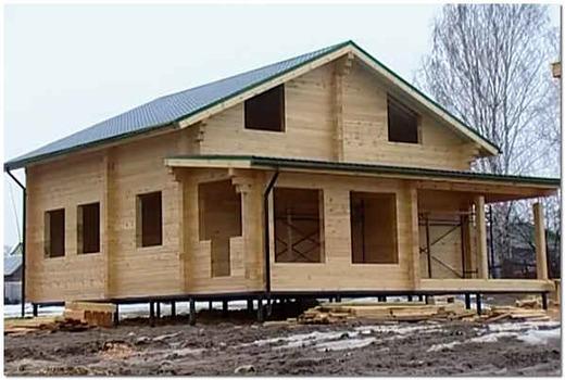 Фундамент для частного строительства
