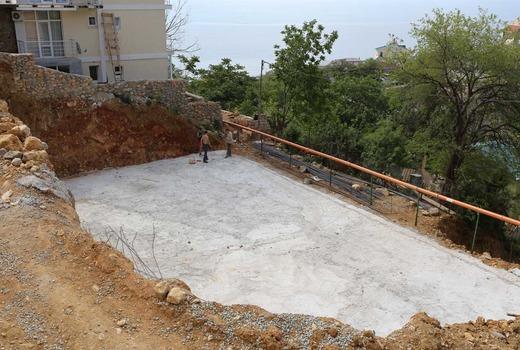 Основное назначение бетонной подушки