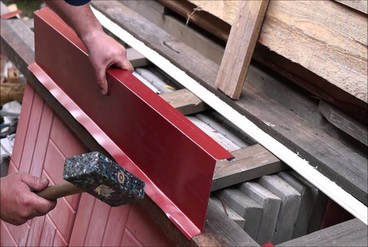 Отливы на основе тонкого листового металла