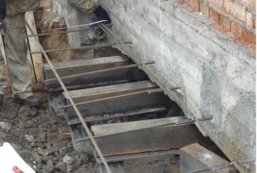 Восстановительные мероприятия по ремонту фундамента