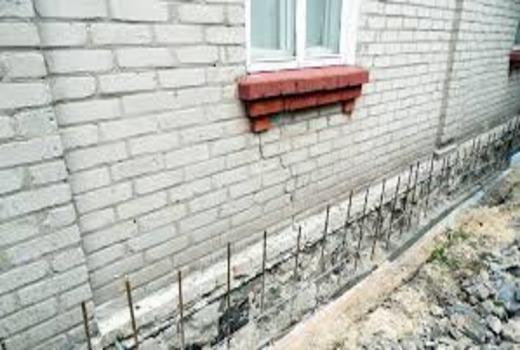 Правильное выполнение укрепления фундаментной конструкции